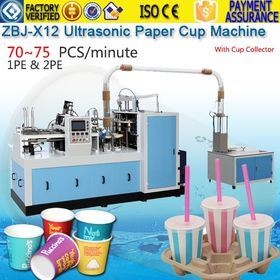 Paper cup plate container box dish tray bag forming machines
