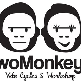 Two Monkeys Cycling