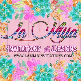 La Mija Invitations