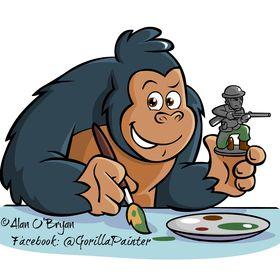 Alan O'Bryan (Gorilla with a Brush)