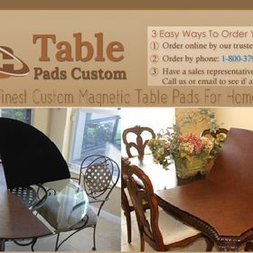 Table Pad Custom Tablepadcustom On Pinterest - The table pad company