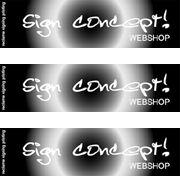 Sign Concept webshop