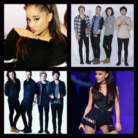 Ariana Grande💕 One Direction💎
