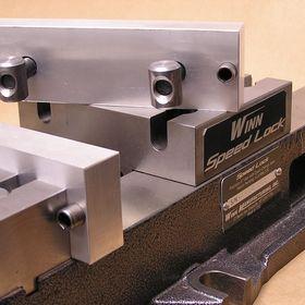 "1 x 2 x 6/"" Fully Machined Premium Aluminum Soft Jaws for 6/"" Kurt Vise"