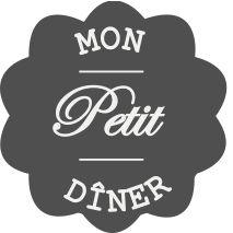 Mon Petit Dîner - Menu - Carnet de cuisine téléchargeable
