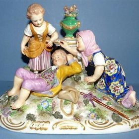 The Attic of Treasures Antiques shop