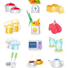 color kitchen accessories