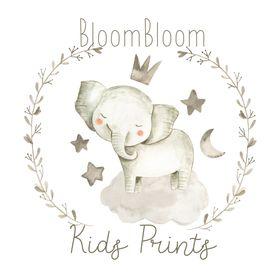BloomBloom| Nursery & Kids Room Wall Art Decor Printables