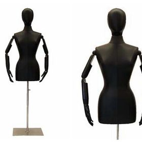 PS-M-FT 16 Tall Male Mannequin Head Durable Plastic Fleshtone