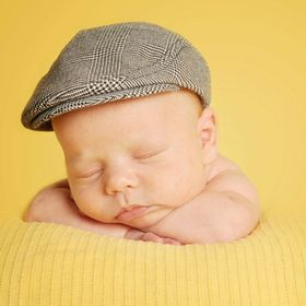 Baby boys brown cotton cord corduroy /& lined flat cap newborn to 36 month childs