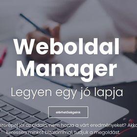 Weboldal Manager