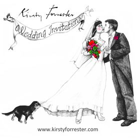 Kirsty Forrester Wedding Invitations