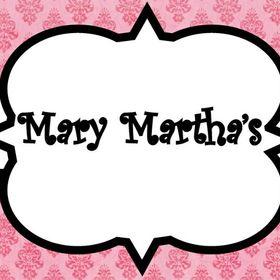 Mary- Marthas.Blogspot.Com
