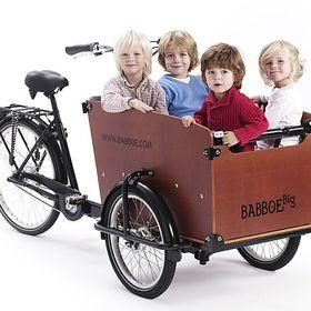 Ongekend Babboe Bakfietsen - Cargo Bike (babboe) on Pinterest XD-94
