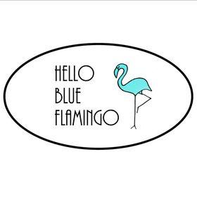 Hello Blue Flamingo