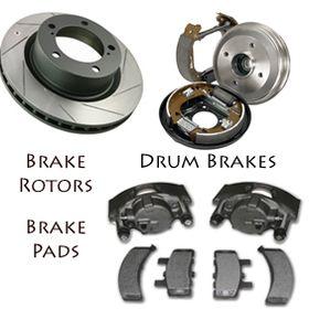 Rear Brake TQ Disc Rotors And TEC Ceramic Pads Kit 2003 Dodge Durango