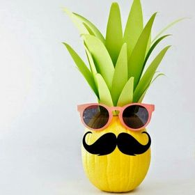 Pineapple Moustached