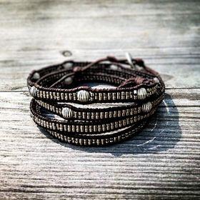 handmade pearl bracelets www.perlenbaender.at