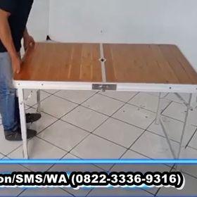 Meja lipat untuk jualan di Tangerang