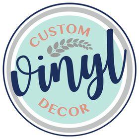 Custom Vinyl Decor Decals