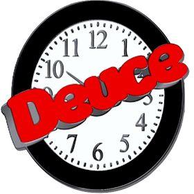 Deuce on the Clock