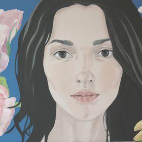 Claudia Hernández - paintings -