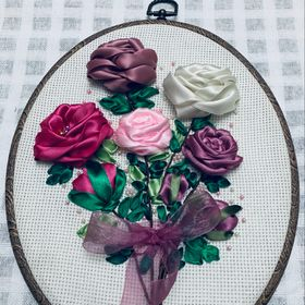 Ribbon Embroidery By Aun
