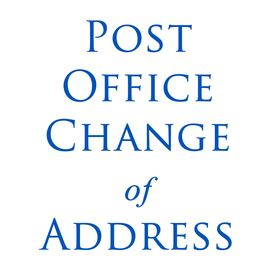 Post Office Change Address PoChangadd On