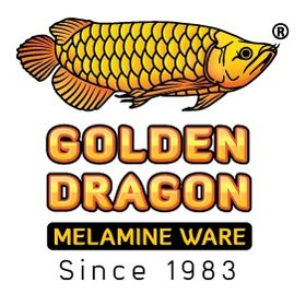 Golden Dragon Melamine Ware