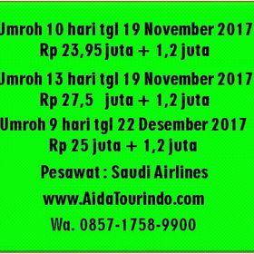 Travel Aida Tourindo Wisata