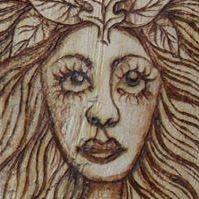 Salix Pyrography
