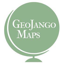 GeoJango Push Pin Travel Maps