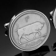 World Coin Cufflinks