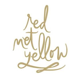 Red Met Yellow | Megan & Meghan