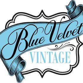 Blue Velvet Vintage -Classic Glamour