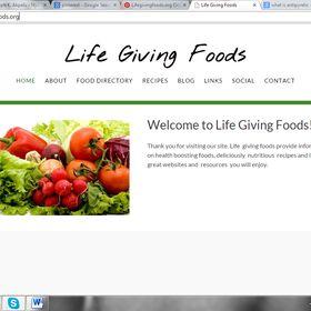 Lifegivingfoods.org Online