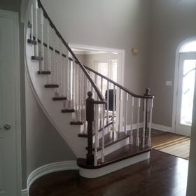 Inter Stairs And Railings