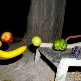 floating fruits