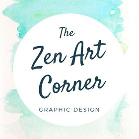 Zen Art Corner. Graphic Design