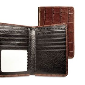 Card Slots Winn International Harness Cowhide Leather Magnetic Money Clip