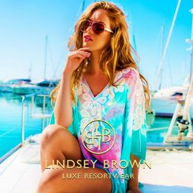 Lindsey Brown Luxury Resort Wear