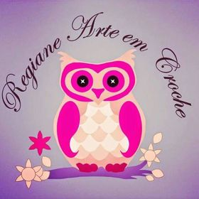 db61439bb Regiane Arte Em Croche (regianealvespau) no Pinterest
