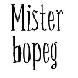 Mister bopeg