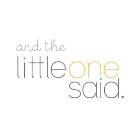 And the little one said