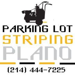 Parking Lot Striping Plano