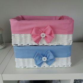 Koszyki z wikliny papierowej- bądź eko