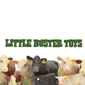 Little Buster Toys Angus Bull 1//16th Scale Realistic Black Angus Bull