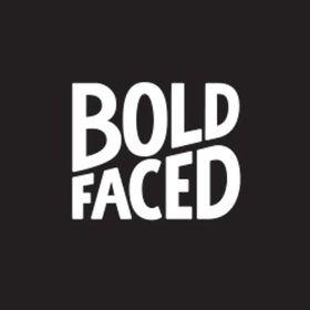 Boldfaced