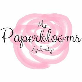 My Paperblooms Aplenty...paper flowers|place card holders|wedding table decorations|favor box topper