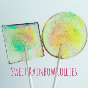 Sweet Rainbow Lollies